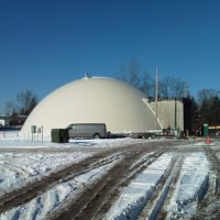 Salt Storage Dome for Deicing